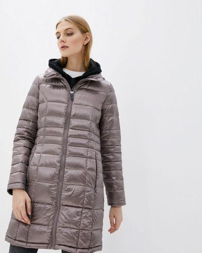 Утепленная серая куртка Calvin Klein