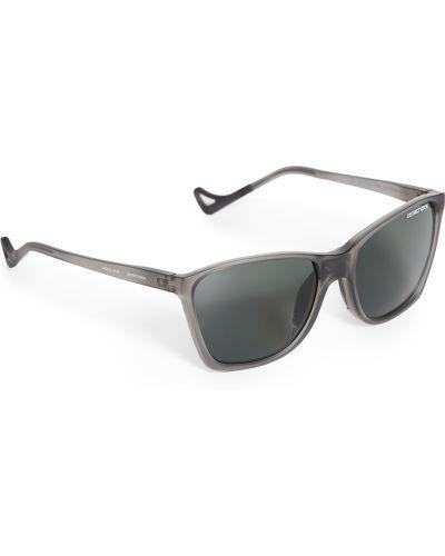Серые солнцезащитные очки квадратные для бега District Vision