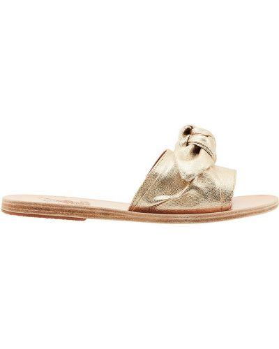 Сандалии с бантом плоский Ancient Greek Sandals