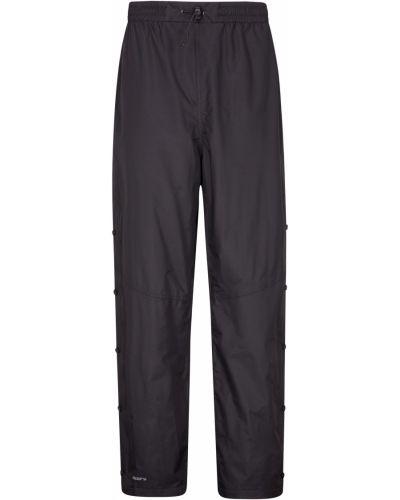 Czarne spodnie materiałowe Mountain Warehouse