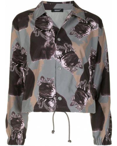 Рубашка оверсайз с воротником на пуговицах Undercover