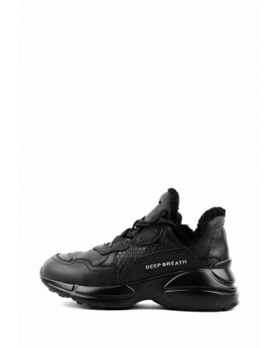 Черные кроссовки Sasha Fabiani