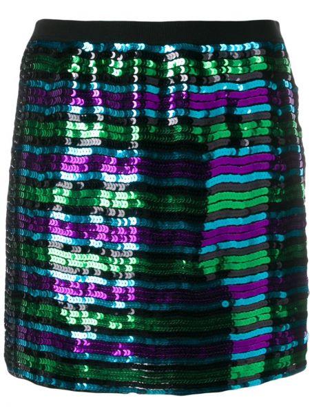 Юбка мини с завышенной талией с пайетками Marc Jacobs