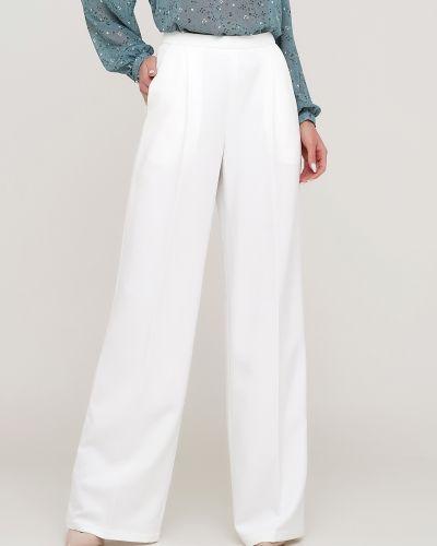 Белые брюки на резинке Anna Yakovenko