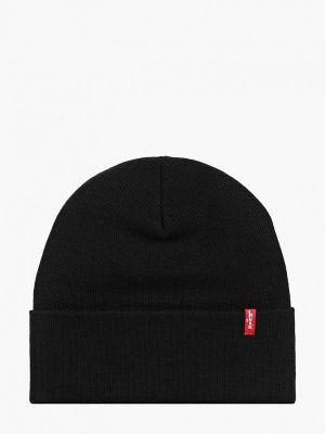 Черная демисезонная шапка Levi's®
