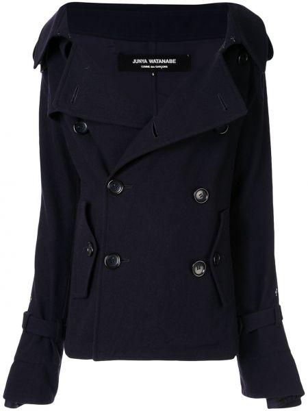 Нейлоновый синий пиджак Junya Watanabe Comme Des Garçons Pre-owned