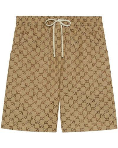 Szorty - brązowe Gucci