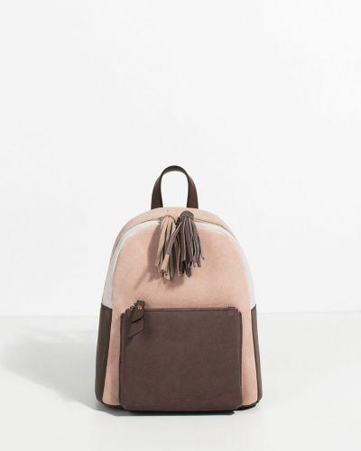 Кожаный рюкзак замшевый с подкладкой Parfois