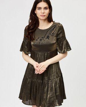 Платье - коричневое D'she