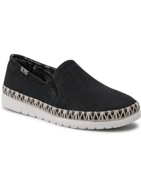 Czarne półbuty casual Skechers