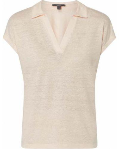 Różowa bluzka z dekoltem w serek Esprit Collection