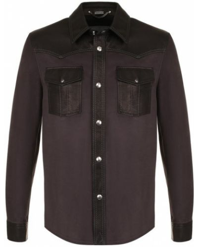 Рубашка на кнопках Lanvin