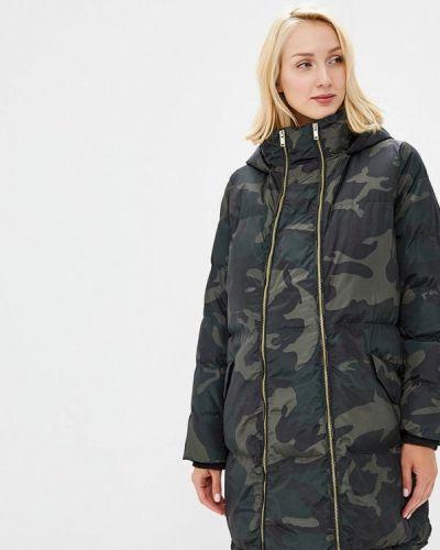 Утепленная куртка осенняя зеленая Mama.licious