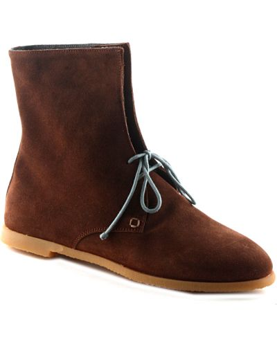 Кожаные ботинки - коричневые Fratelli Rossetti