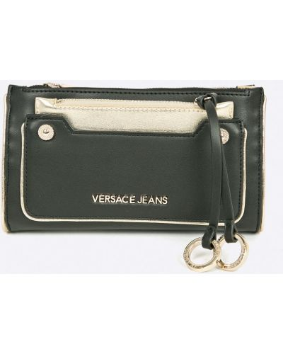 Черные джинсы с карманами Versace Jeans