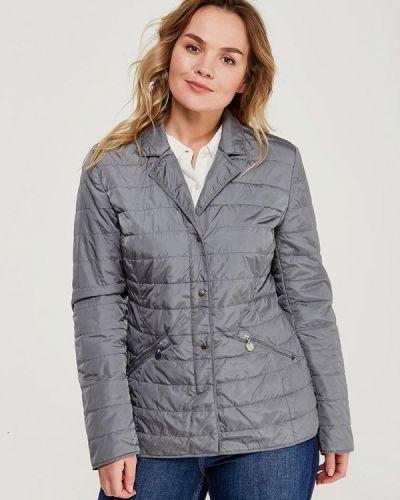 Серая утепленная куртка Betty Barclay