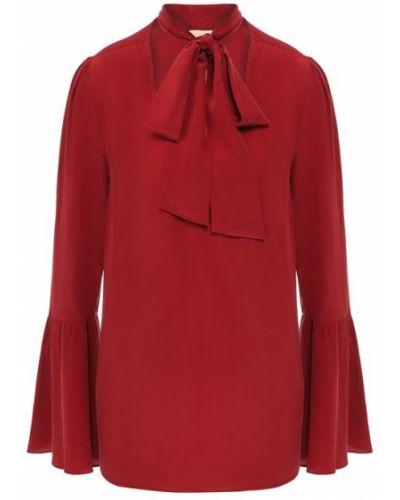 Блузка шелковая с воротником Michael Michael Kors