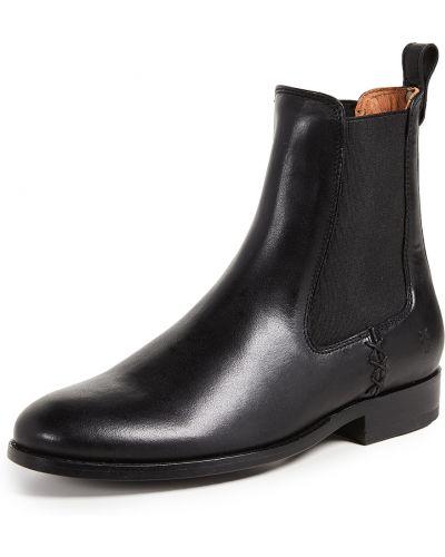Кожаные ботинки челси - черные Frye