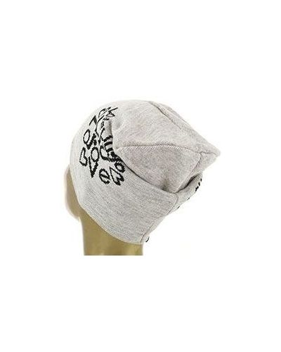 Бежевая шапка Liu Jo