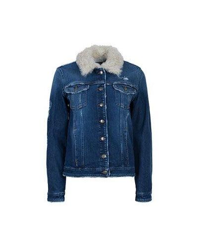 Синяя джинсовая куртка Valentino Red