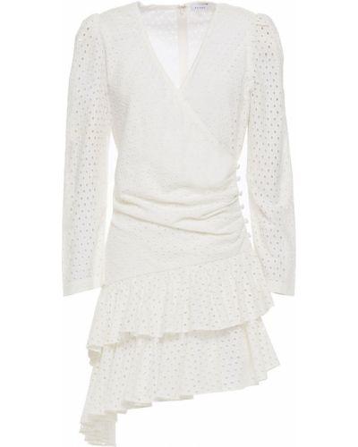Sukienka mini asymetryczna bawełniana Rhode