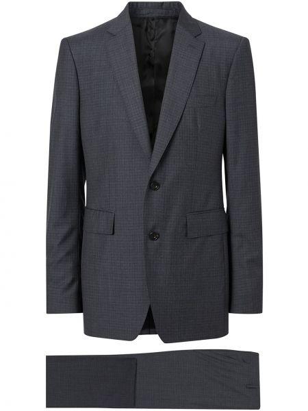 Klasyczny garnitur kostium z nadrukiem Burberry