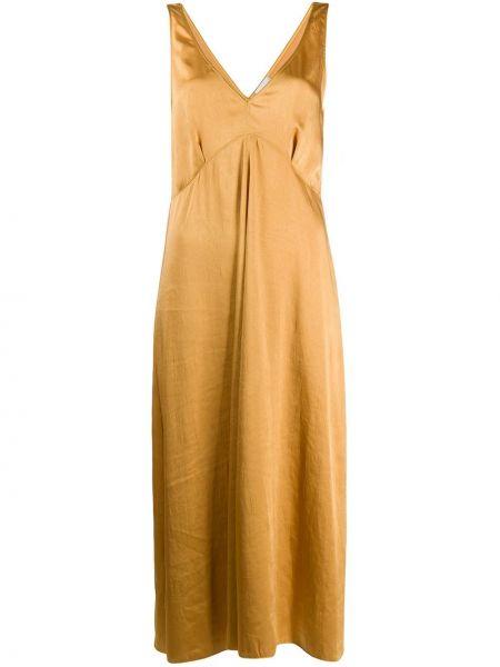 Платье с V-образным вырезом трапеция Forte Forte