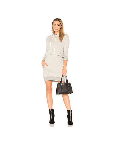Платье мини с карманами с рукавами N:philanthropy
