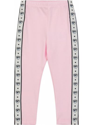 Хлопковые леггинсы - розовые Monnalisa