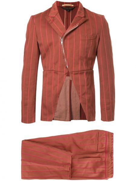 Розовый костюмный костюм свободного кроя на пуговицах Comme Des Garçons Pre-owned