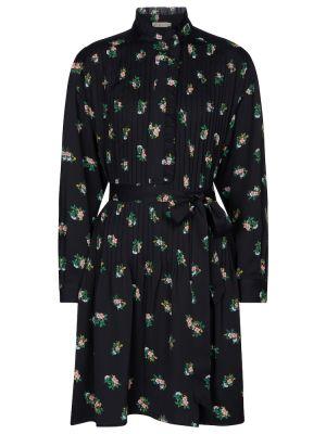 Платье рубашка - черное Tory Burch