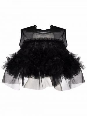 Топ с открытой спиной - черный Comme Des Garçons Noir Kei Ninomiya