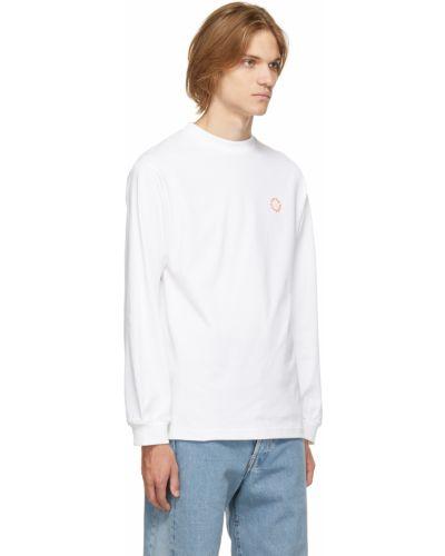 Biała koszulka bawełniana Carne Bollente