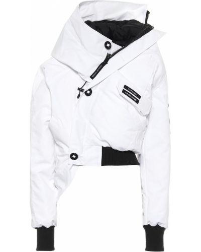 Пуховая ватная белая куртка Y/project