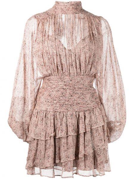 Розовое шифоновое платье Shona Joy
