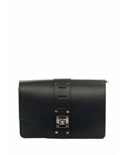 Черная кожаная сумка Vivat Accessories