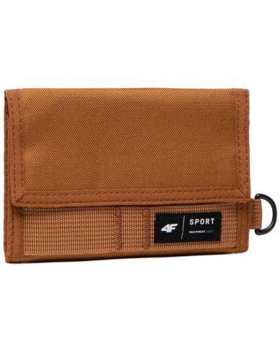 Brązowy portfel 4f