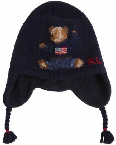 Wełniany kapelusz Ralph Lauren