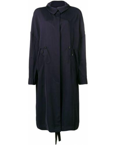 Черная длинная куртка с манжетами Christian Wijnants