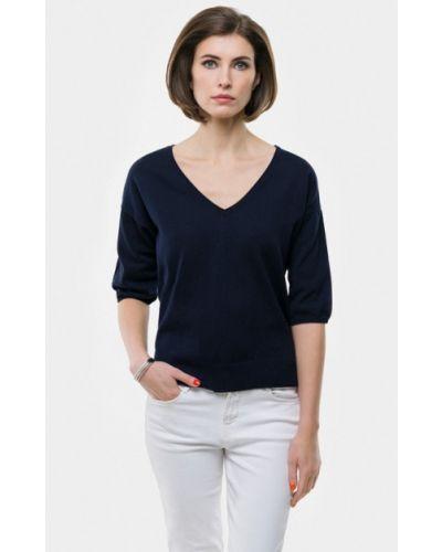 Пуловер синий Vera Moni
