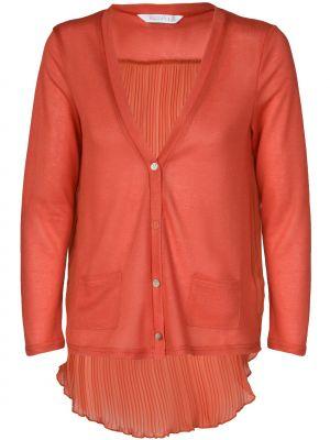 Оранжевый кардиган из вискозы Compania Fantastica