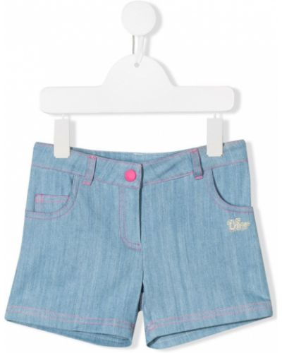 Шорты джинсовые декоративный Baby Dior