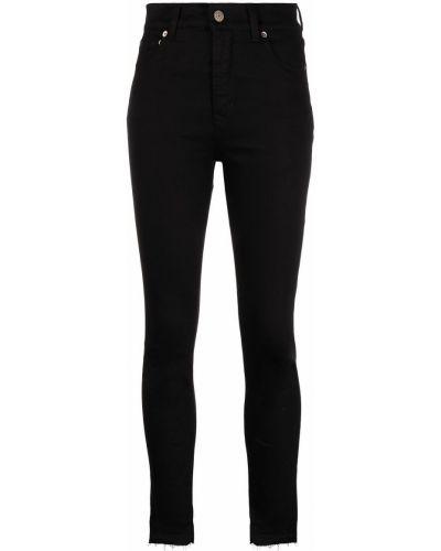 Зауженные джинсы - черные Golden Goose