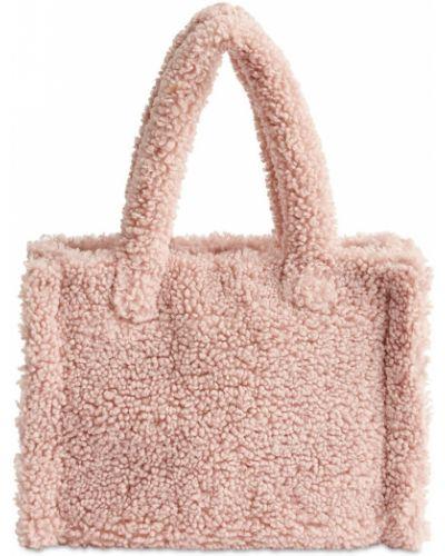Różowa torba na ramię Stand