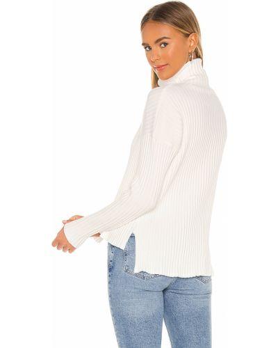 Miękki bawełna włókienniczy biały golf La Made