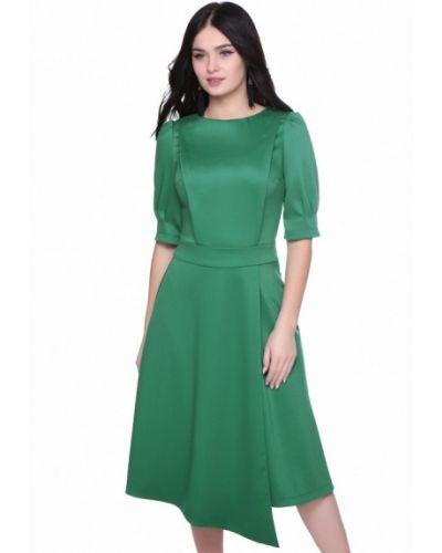 Зеленое платье Grey Cat