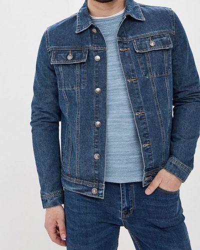 Джинсовая куртка синяя Sela
