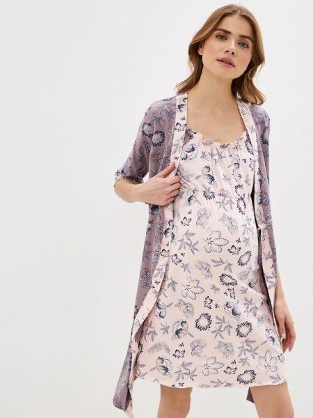 Пижама розовый коричневый фэст