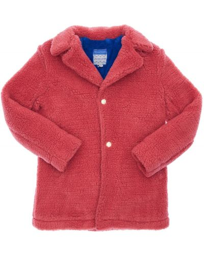 Розовое пальто с карманами с лацканами Jacob Cohen