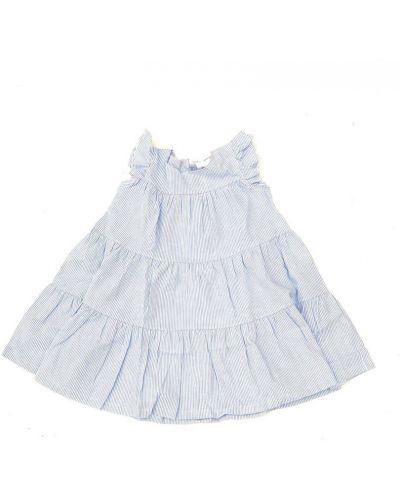 Niebieska sukienka Douuod